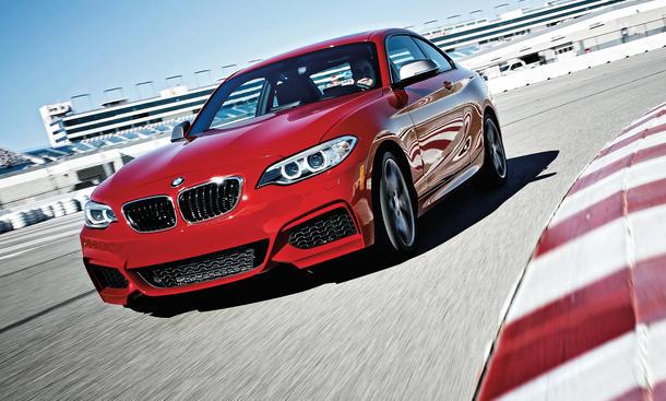 BMW M235i Coupe Fahrbericht Bilder technische Daten