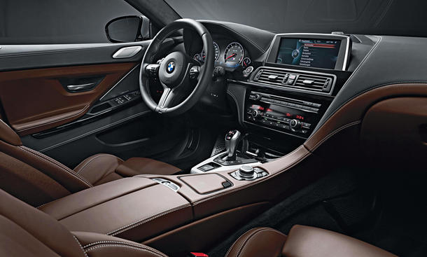 bmw m6 gran coupe test bilder und technische daten bild 3. Black Bedroom Furniture Sets. Home Design Ideas