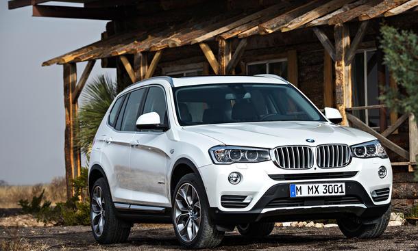 BMW X3 2014 Facelift Kompakt SUV xDrive20d F25 LCI sDrive18d