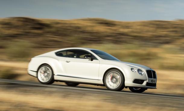 Bentley Continental GT V8 S 2014 Preis Coupe Marktstart