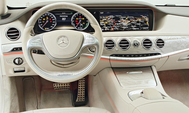 Mercedes C Klasse W  Zoll Tft