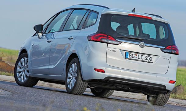 Bilder Opel Zafira Tourer 1.6 CDTI ecoFLEX Kompaktvans