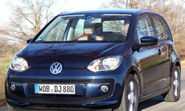 Bilder VW Up 1.0 BlueMotion Technology City-Cars Kleinstwagen