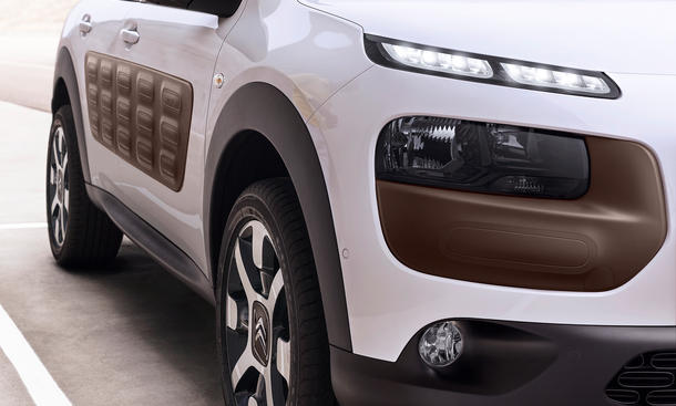 Citroen C4 Cactus 2014 Genfer Autosalon SUV Luftpolster