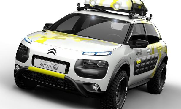 Citroen C4 Cactus Aventure Concept Studie Genfer Autosalon 2014