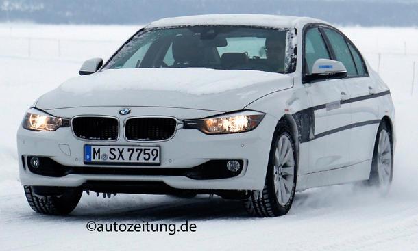 Erlkönig BMW 3er Plug-In-Hybrid Mittelklasse Limousine