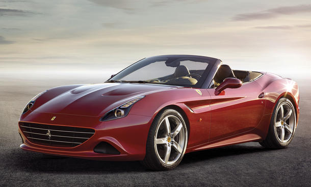 Ferrari California T 2014 Genf Facelift V8 Turbo Motor