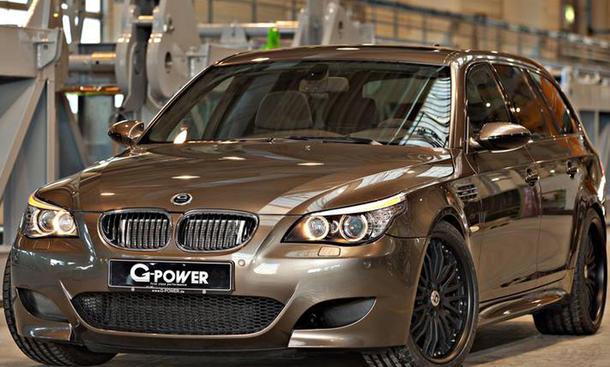 G-Power M5 Hurricane RR BMW M5 Touring Tuning 2014 Bilder Powerkombi Beschleunigung