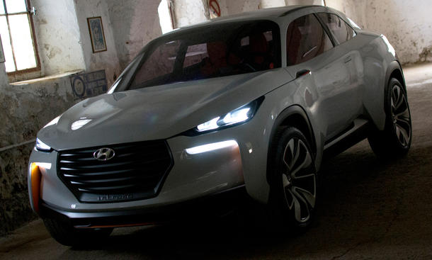 Hyundai Intrado Concept Studie SUV Genfer Autosalon 2014
