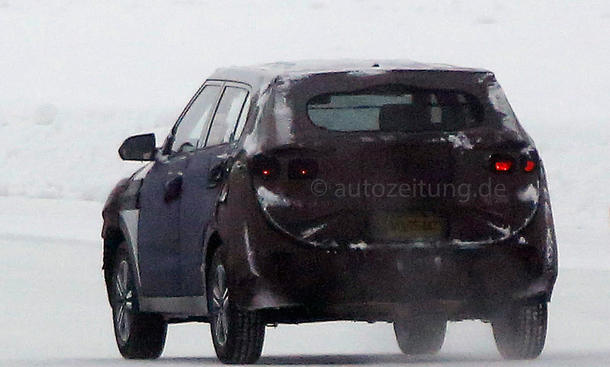 Hyundai ix25 2014 Erlkönig kompakter Crossover City-SUV Bilder Prototyp