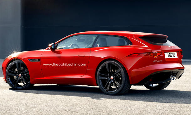Jaguar F-Type Shooting Brake Sportwagen Kombi Theophilus Chin
