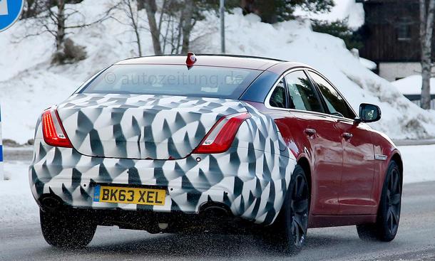 2015 - [Jaguar] XJ Restylée Jaguar-XJ-Facelift-Erlkoenig-2014-01