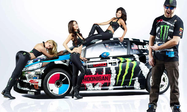 Ken Block Ford Fiesta 2014 Gymkhana Monster Energy Rallye