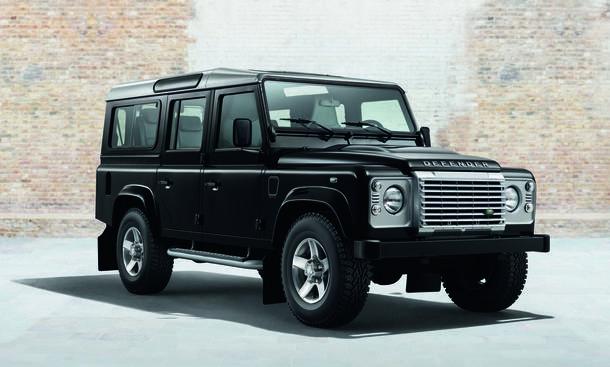 Land Rover Defender Sondermodelle Black Silver Pack Genfer Autosalon 2014