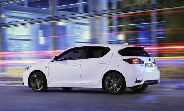 Lexus CT 200h Facelift 2014 Hybrid Preis Marktstart Bilder Luxury Line