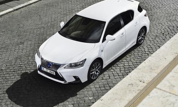 Lexus CT 200h Facelift 2014 Hybrid Preis Marktstart Bilder Frontpartie