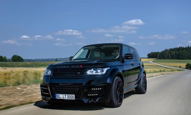 Lumma Range Rover CLR R 2014 Bilder SUV Tuning Geländewagen Carbon-Kleid
