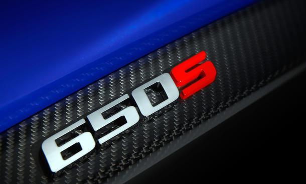 McLaren 650S 2014 Genfer Auto Salon Sportwagen Weltpremiere 650 PS