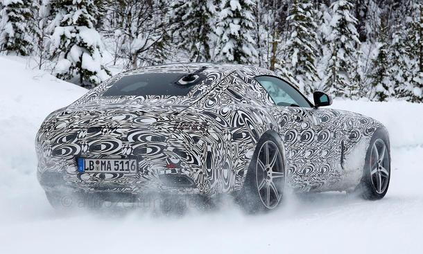 2014 - [Mercedes-AMG] GT [C190] - Page 5 Mercedes-GT-AMG-2015-Erlkoenig-02