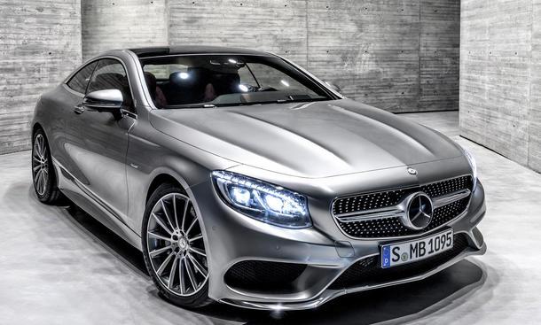 Mercedes S Klasse Coupé 2014 Genfer Autosalon technische Daten