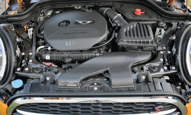 Mini Cooper S Fahrbericht Bilder technische Daten Motor