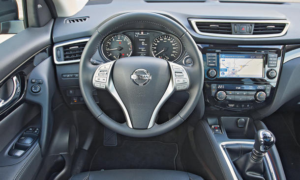 Nissan qashqai vs vw tiguan vergleich der suv