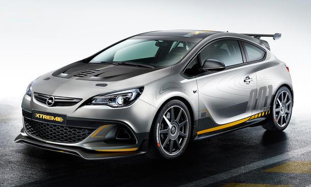 Opel Astra OPC Extreme 2014 Genfer Autosalon Kompaktsportler Studie Kleinserie