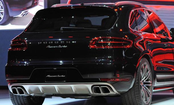 Porsche Macan 2014 Produktion Leipzig Start Kompakt-SUV Bild