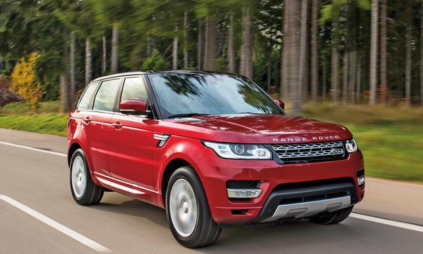 Range Rover Sport SDV6 Fahrbericht Bilder technische Daten