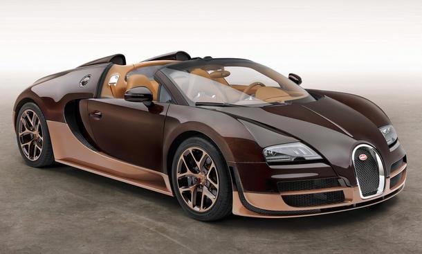 Rembrandt Bugatti Veyron 2014 Genf Sondermodell Les Legendes de Bugatti