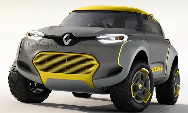 Renault Kwid 2014 Delhi Auto Show Concept Car SUV Studie