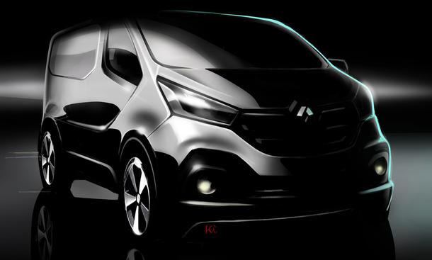 Renault Trafic 2014 Transporter Bild dritte Generation