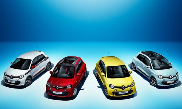 Renault Twingo 2014 Genfer Autosalon Kleinwagen Heckantrieb