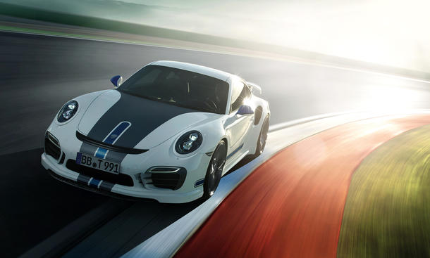 TechArt Porsche 911 Turbo S Tuning 991 Genf 2014