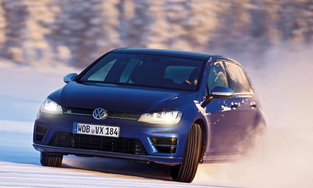 VW Golf Fahrbericht Bilder technische Daten