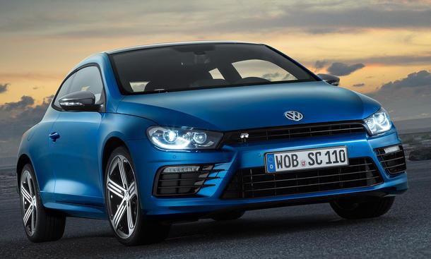 VW Scirocco R 2014 Genfer Salon Facelift Modellpflege