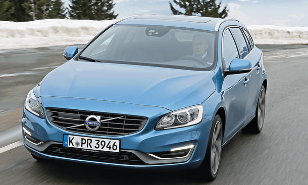 Volvo V60 T5 Fahrbericht Bilder technische Daten