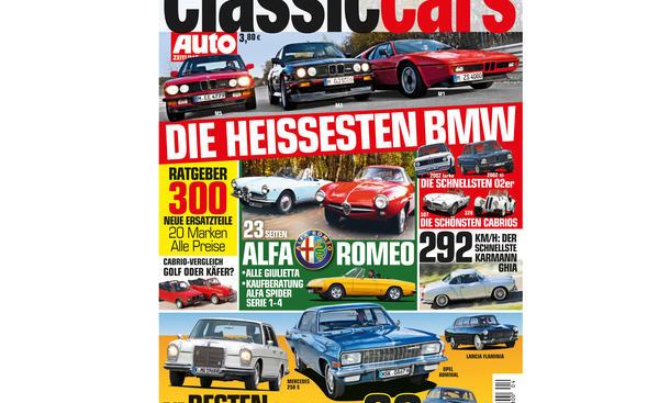 AUTO ZEITUNG Classic Cars 04 2014 Heft Vorschau Cover