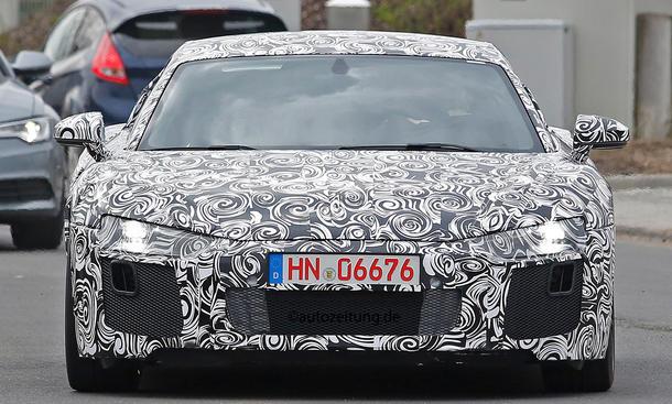 Audi R8 2015 Erlkoenig Supersportwagen V10 V8 E-Tron Design Bilder