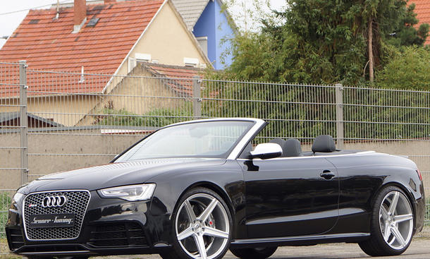 Audi RS 5 Cabrio Senner Tuning Bilder Sportwagen