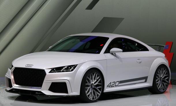 Audi TT quattro sport Concept TS Genfer Autosalon 2014 Bilder