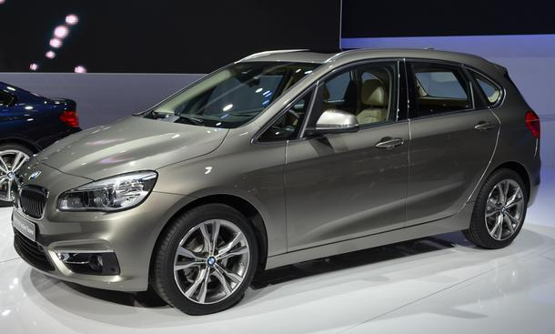 BMW 2er Active Tourer 2014 Genfer Salon 2014 Kompakt-Van Frontantrieb