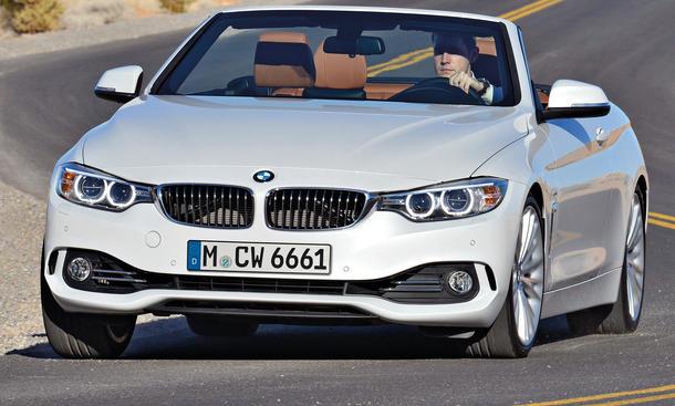 BMW 4er Gran Coupé 2014 innen ausstattung leder schwarz weiß
