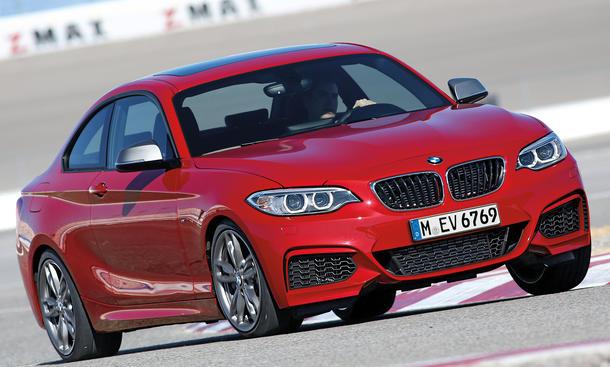BMW M235i Coupe Einzeltest Bilder technische Daten