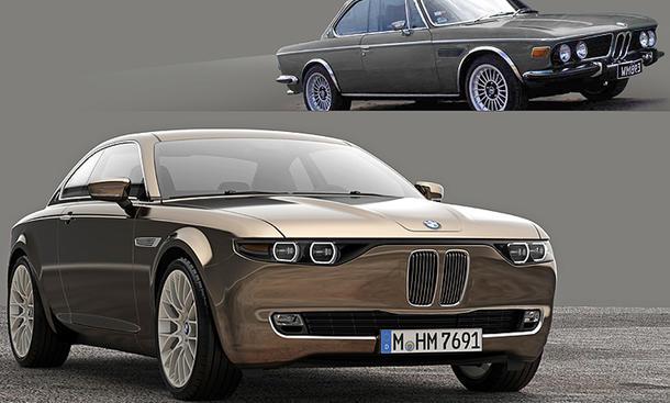 BMW Vintage CS Concept 2014 E9 David Obendorfer