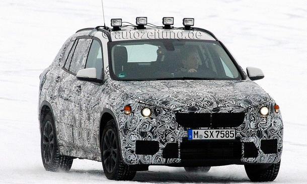 BMW X1 2015 Erlkoenig Kompakt SUV Frontantrieb