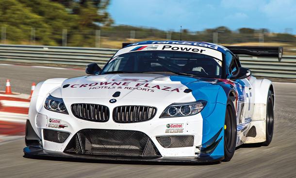 BMW Z4 GT3 Tracktest Bilder technische Daten
