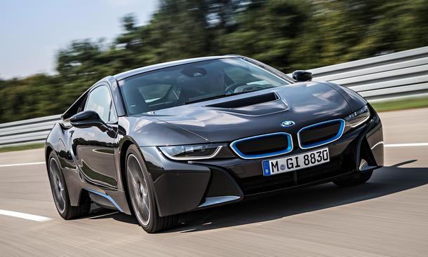 BMW i8 technische Daten Verbrauch Plug-In-Hybrid Sportwagen Carbon