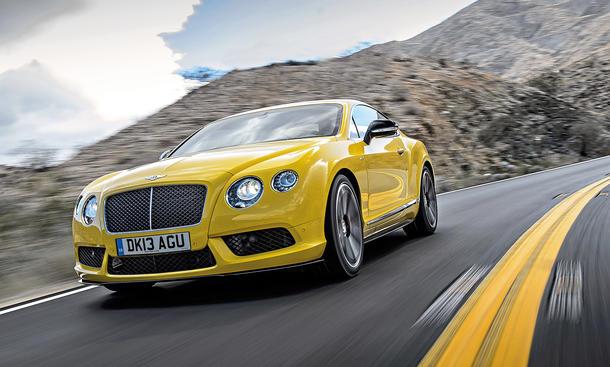 Bentley Continental GT V8 S Fahrbericht Bilder technische Daten
