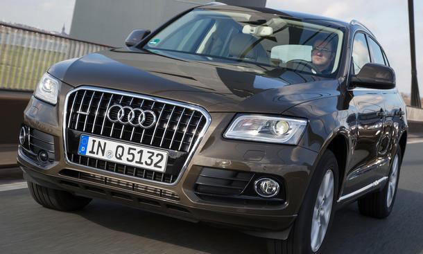 Bilder Audi Q5 2.0 TDI quattro Vergleichstest